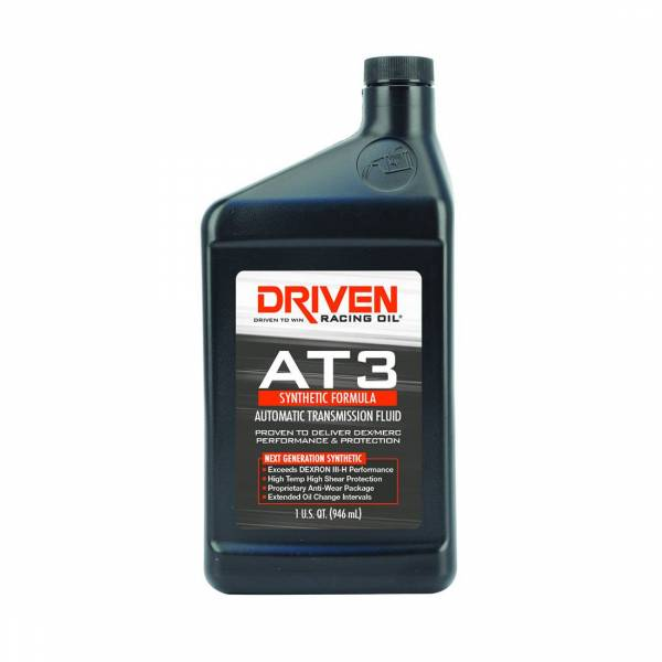 Driven Racing Oil - AT3 Synthetic DEX/MERC Automatic Transmission Fluid