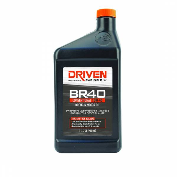 Driven Racing Oil - BR40 Conventional 10w-40 Break-In Oil