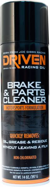 Driven Racing Oil - Brake & Parts Cleaner - 14 oz. Can