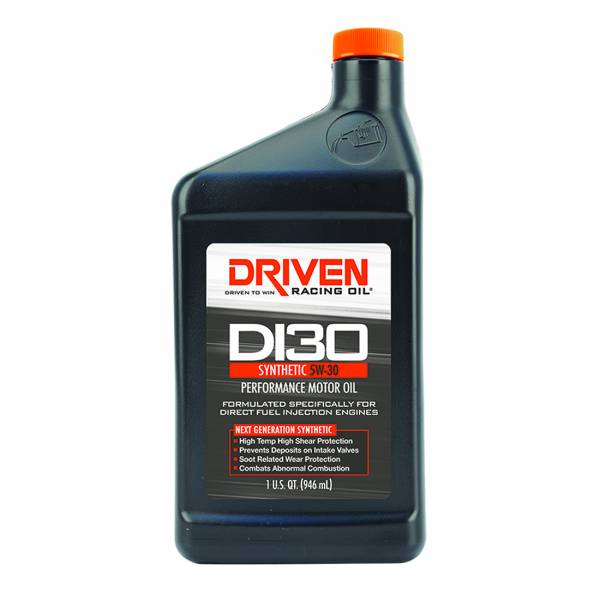Driven Racing Oil - DI30 5W-30 Synthetic Direct Injection Performance Motor Oil