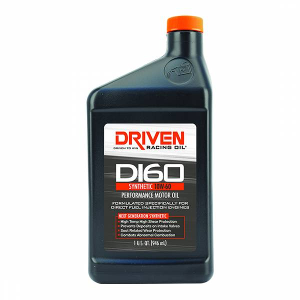 Driven Racing Oil - DI60 10W-60 Synthetic Direct Injection Performance Motor Oil