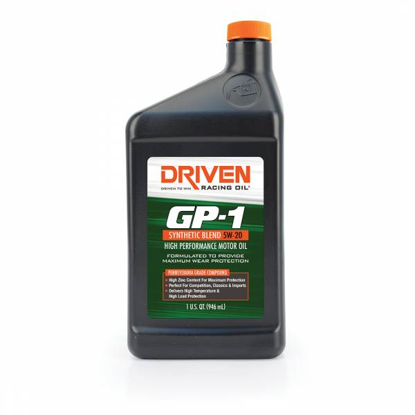 Driven Racing Oil - GP-1 5W-20 Synthetic Blend High Performance Oil