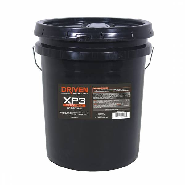 Driven Racing Oil - XP3 10W-30 Synthetic Racing Oil-5 Gal Pail