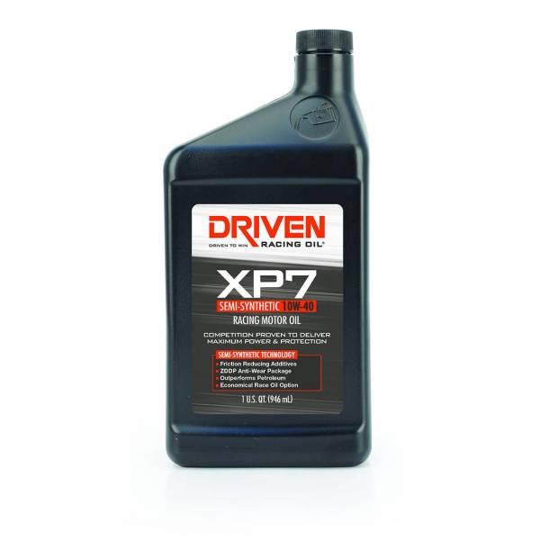 Driven Racing Oil - XP7 10W-40 Semi-Synthetic Racing Oil