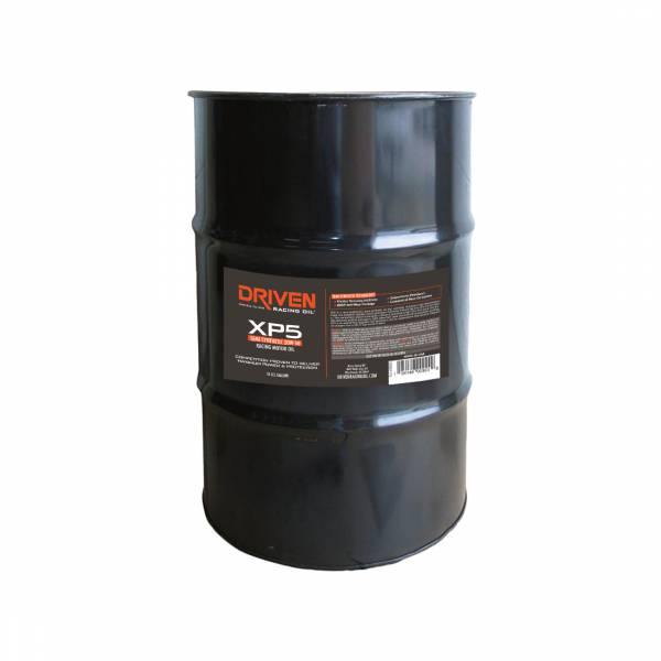 Driven Racing Oil - XP5 20W-50 Semi-Synthetic Racing Oil - 54 Gal. Drum