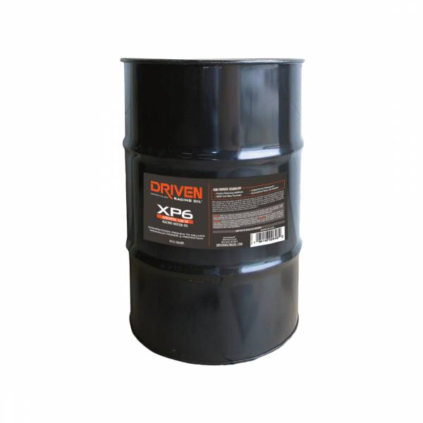 Driven Racing Oil - XP6 15W-50 Synthetic Racing Oil - 54 Gal. Drum