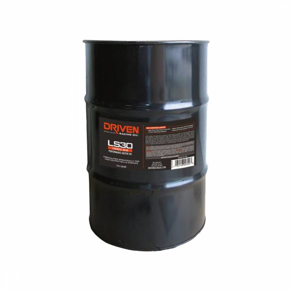 Driven Racing Oil - LS30 5W-30 Synthetic Street Performance Oil - 54 Gal. Drum