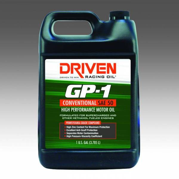 Driven Racing Oil - NEW - GP-1 Conventional SAE 50