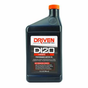 Street Performance GM Gen V DFI/GDI Truck Engines - DRIVEN Engine Oil - Driven Racing Oil - DI20 0W-20 Synthetic Direct Injection Performance Motor Oil