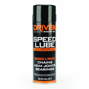 Shop By Product - Greases - Driven Racing Oil - Speed Lube - 8 oz. EP Spray Lube